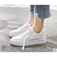 女鞋内增高小白鞋女百搭白鞋厚底板鞋运动鞋新款