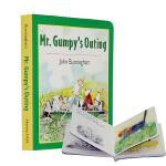 【中商原版】英文原版Mr. Gumpy's Outing和甘伯伯去游河 John Burningham约翰・伯宁罕 接