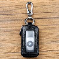 新款男士多功能遥控汽车钥匙包通用套智能个性车钥匙扣头层牛皮小