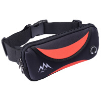 0315111514701户外男女士音乐手机包腰包防水运动夜跑步装备贴身多功能健身腰带