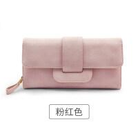 女士钱包2018新款女长款韩版小清新多功能简约女生钱包钱夹手拿包
