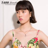 T400耳环韩国气质防过敏耳钉女个性简约20053