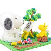 四喜人魔法DIY玉米3200粒 幼儿园儿童手工创意制作益智拼搭玩具