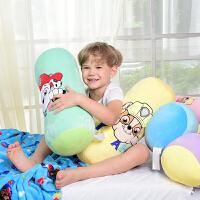 汪汪队立大功(PAW PATROL)新款儿童枕头可爱女生毛绒玩具宝宝睡觉抱枕学生枕护颈枕头条形枕