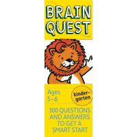 Brain Quest Kindergarten 少儿智力开发系列:5-6岁益智 智力开发卡片