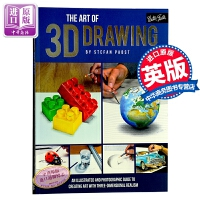 【中商原版】3D绘画艺术 英文原版 The Art of 3D Drawing Stefan Pabst Walter
