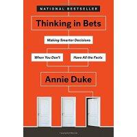 【现货】英文原版 Thinking in Bets 思考下注 Annie Duke的决策心法 适应不确定性 做更好的决