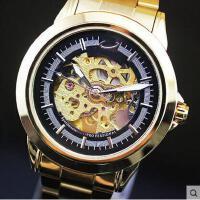 户外表钢带手表男生男表腕表时尚老人学生情侣男士全自动机械表