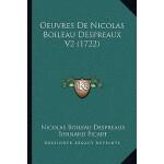 【预订】Oeuvres de Nicolas Boileau Despreaux V2 (1722) 97811656
