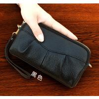 女包手拿包大容量皮手包女士小包手抓包手机钥匙零钱包