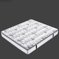 床垫1.5/1.8米独立弹簧环保天然乳胶双人席梦思软硬适中可拆洗 棉绒面料+独立袋弹簧+海绵+乳胶