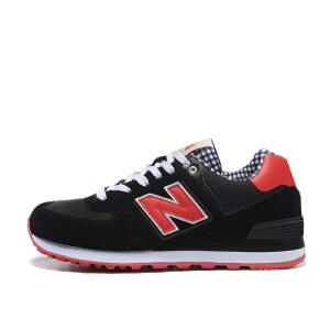 NB BaoBei新款男鞋女鞋新百伦鞋业公司授权N字574方格情侣复古运动鞋