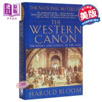 西方正典 英文原版 The Western Canon 书籍 文学理论 Harold Bloom