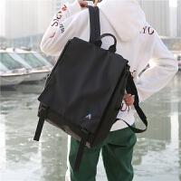 韩国ins书包女中学生原宿ulzzang帆布双肩包英伦百搭街拍情侣背包