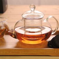 600ml耐热玻璃茶具带过滤玻璃泡花茶壶花草茶壶耐高温带过滤耐热下午茶茶壶家用功夫茶具