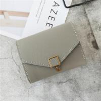 小钱包女短款女士韩版拉链零钱包学生迷你卡包硬币包新款手拿包包