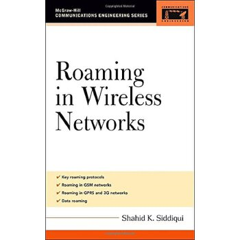 Roaming in Wireless Networks (McGraw-Hill Communications Engineering) [ISBN: 978-0071455053] 美国发货无法退货,约五到八周到货