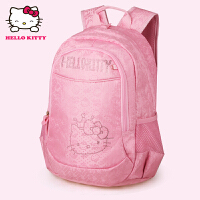 HelloKitty凯蒂猫 KT1096A粉红 韩版儿童书包 3-6年级可爱女小学生护脊减负书包