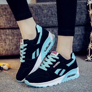 秋季新款女鞋百搭跑步鞋女时尚潮流休闲鞋女气垫鞋子韩版运动鞋女