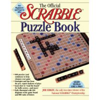The Official Scrabble Puzzle Book【英文原版】 官方拼字游戏益智书