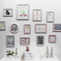 照片墙相框小清新简约现代照片墙装饰北欧相框墙创意客厅相片墙卧室挂墙