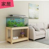 鱼缸底柜鱼缸柜子水族箱架子鱼缸桌子木底座鱼缸架木鱼缸架子