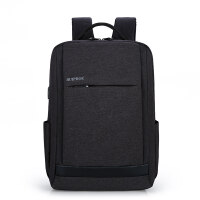 电脑双肩包15.6寸14寸17.3男女笔记本充电背包休闲旅行包 带usb接口