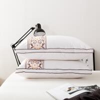 君别5五星级酒店款床上用品用枕头枕芯超软专用一对装四季单人