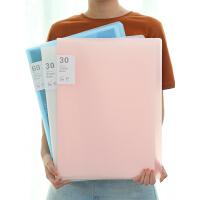 A3画夹8开海报整理册装画画的文件夹作品集画册袋8K收藏儿童收纳本学生奖状美术收集画纸放绘画素描保存夹子