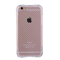 坚达 手机壳防摔软胶保护套全包边透明壳 适用于iPhone5s iPhone se手机软壳