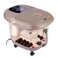 康豪 KH-8558全自动电动按摩足浴盆加热电动泡洗脚盆深桶足浴器足疗冼脚盆 八组电动滚轮按摩