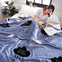 君别垫在床上的绒毯法兰绒毛毯珊瑚毯子冬季加厚保暖毛绒床单人宿舍小被子