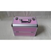新款供应 铝合金化妆工具箱两层化妆箱 大号铝箱美甲箱