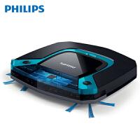 飞利浦(Philips)扫地机器人FC8794 家用智能规划拖地超薄5.8cm吸尘器 全自动擦扫拖地二合一体 干湿两用