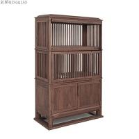 新中式茶桌椅组合功夫茶台茶几茶室茶楼小户型全实木家具定制