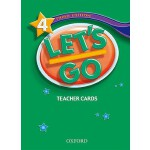 【预订】Let's Go 4 Teacher Cards