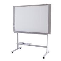 得力50011会议白板电子复印书写白板办公教学会议板(白板+白板架组合)