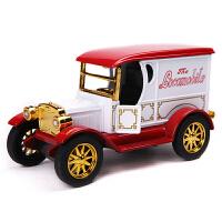 仿真古典老爷车 儿童回力玩具小汽车模型礼物