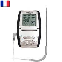 【当当海外购】法国进口Mastrad 牛奶测温婴儿食物测温烧烤烘焙温度计&计时器二合一