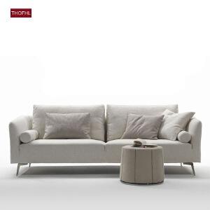 N空间 超感北欧沙发设计师款W1848 组合沙发转角沙发牛皮沙发羽绒沙发乳胶沙发