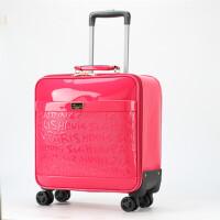 拉杆箱女16寸登机箱18寸行李箱万向轮密码箱旅行箱小皮箱学生