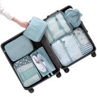 20191129053134024旅行收纳包套装行李箱衣服内衣整理袋子旅游便携分装包衣物收纳袋