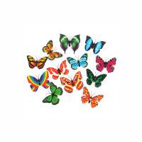 大贸商 趣味蝴蝶 冰箱贴装饰 创意礼品 卡通贴纸儿童玩具GM00037