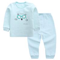 宝宝内衣套装纯棉0-1-3岁加厚2婴儿秋衣秋裤男童女童保暖睡衣