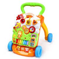 宝宝学步车手推车玩具婴儿童多功能可调速侧翻助步车6/7-18个月