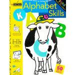 Alphabet Skills (Grade K,Little Golden Book) 字母拼写技巧(金色童书,学龄前练习册)9780307036643