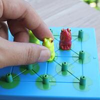 小乖蛋 青蛙历险记 益智趣味游戏棋逻辑思维玩具儿童亲子互动桌游