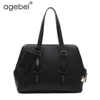 [1件2折]艾吉贝新款单肩包女大包牛皮单肩女包时尚潮通勤包女士包包