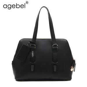 艾吉贝2017新款单肩包女大包牛皮单肩女包时尚潮通勤包女士包包