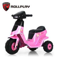 rollplay儿童电动车摩托车小孩可坐宝宝玩具童车1-2-3-5岁三轮车